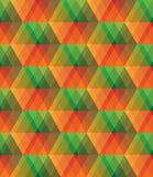 Teste padrão sem emenda do mosaico de vidro colorido do sumário do vetor imagens de stock royalty free