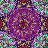Teste padrão sem emenda do mosaico marroquino Fotos de Stock Royalty Free