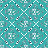 Teste padrão sem emenda do mosaico marroquino Imagem de Stock Royalty Free