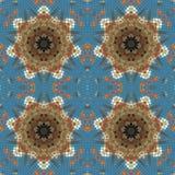 Teste padrão sem emenda do mosaico original Fotografia de Stock