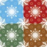 Teste padrão sem emenda do Natal Imagens de Stock