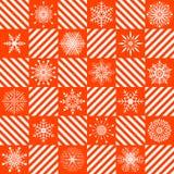 Teste padrão sem emenda do Natal. Imagens de Stock