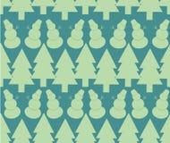 Teste padrão sem emenda do Natal Imagens de Stock Royalty Free