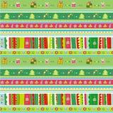 Teste padrão sem emenda do Natal. Foto de Stock
