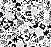 Teste padrão sem emenda do Natal Imagem de Stock