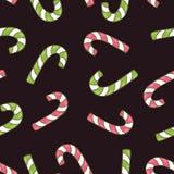 Teste padrão sem emenda do Natal do vetor ilustração stock