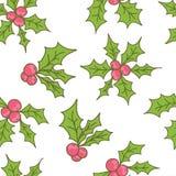 Teste padrão sem emenda do Natal do vetor ilustração royalty free