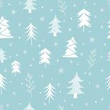 Teste padrão sem emenda do Natal Grande para o papel de envolvimento ilustração royalty free