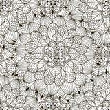 Teste padrão sem emenda do ornamento floral Fotografia de Stock