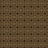 Teste padrão sem emenda do ouro Imagem de Stock