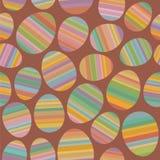 Teste padrão sem emenda do ovo da páscoa Imagem de Stock Royalty Free