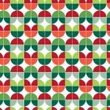 Teste padrão sem emenda do papel de envolvimento do Natal ilustração stock