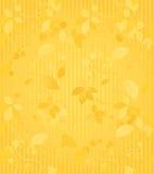 Teste padrão sem emenda do papel de parede do ouro Foto de Stock