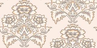 Teste padrão sem emenda do papel de parede do vintage Imagem de Stock Royalty Free