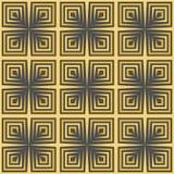 Teste padrão sem emenda do papel de parede do vintage de Art Deco Imagens de Stock Royalty Free