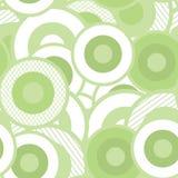 Teste padrão sem emenda do papel de parede dos círculos Foto de Stock Royalty Free