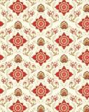 Teste padrão sem emenda do papel de parede floral ilustração royalty free