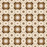 Teste padrão sem emenda do papel de parede retro geométrico Fotografia de Stock Royalty Free
