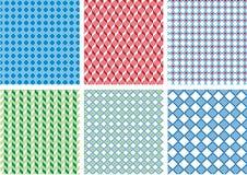 Teste padrão sem emenda do pixel Imagens de Stock Royalty Free