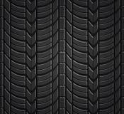 Teste padrão sem emenda do pneu da roda Fotografia de Stock Royalty Free