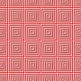 Teste padrão sem emenda do polígono geométrico Projeto gráfico da forma Ilustração do vetor Projeto do fundo Ilusão ótica 3D Styl Fotos de Stock Royalty Free
