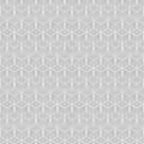 Teste padrão sem emenda do polígono geométrico Projeto gráfico da forma Ilustração do vetor Projeto do fundo Ilusão ótica 3D Esti Imagem de Stock Royalty Free