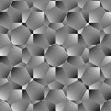 Teste padrão sem emenda do polígono geométrico Projeto gráfico da forma Ilustração do vetor Projeto do fundo Ilusão ótica 3D Esti Fotografia de Stock Royalty Free