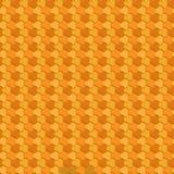 Teste padrão sem emenda do polígono geométrico Projeto gráfico da forma Ilustração do vetor Projeto do fundo Ilusão ótica 3D Esti Foto de Stock Royalty Free