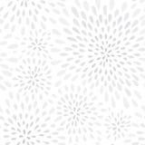 Teste padrão sem emenda do ponto abstrato do respingo do fogo de artifício Textura floral do ponto da pétala do redemoinho ilustração stock