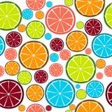 Teste padrão sem emenda do projeto da fruta. Vetor ilustração stock