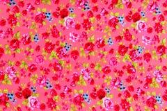 Teste padrão sem emenda do projeto do ramalhete de Rosa Foto de Stock Royalty Free