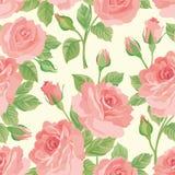 Teste padrão sem emenda do ramalhete floral Fundo cor-de-rosa da flor ilustração do vetor