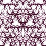Teste padrão sem emenda do redemoinho do vetor Textura moderna Imagem de Stock Royalty Free