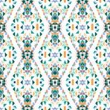Teste padrão sem emenda do Rhombus Fotos de Stock