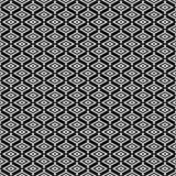 teste padrão sem emenda do rhonbus geométrico Projeto gráfico da forma Ilustração do vetor Projeto do fundo Ilusão ótica 3D Estil Imagens de Stock Royalty Free