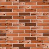 Teste padrão sem emenda do tijolo velho Fotografia de Stock