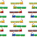 Teste padrão sem emenda do trem Fotos de Stock