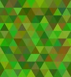 Teste padrão sem emenda do triângulo Fotografia de Stock