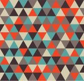 Teste padrão sem emenda do triângulo foto de stock royalty free