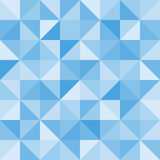 Teste padrão sem emenda do triângulo abstrato Vetor Imagens de Stock