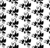 Teste padrão sem emenda do urso de panda Foto de Stock Royalty Free