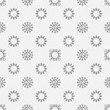 Teste padrão sem emenda do vírus Foto de Stock Royalty Free