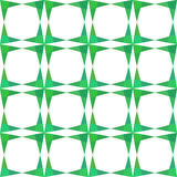 Teste padrão sem emenda do verde abstrato da geometria Fotografia de Stock Royalty Free
