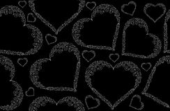 Teste padrão sem emenda do vetor abstrato do Valentim com corações figurados Fotos de Stock Royalty Free