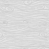 Teste padrão sem emenda do vetor cinzento de madeira da textura Fotografia de Stock Royalty Free