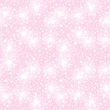 Teste padrão sem emenda do vetor com as flores peludos pequenas Fotografia de Stock