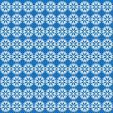 Teste padrão sem emenda do vetor com flocos de neve Fundo do inverno ilustração stock