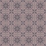 Teste padrão sem emenda do vetor com rosettes abstratos Fotos de Stock Royalty Free