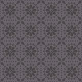 Teste padrão sem emenda do vetor com rosettes abstratos Fotografia de Stock
