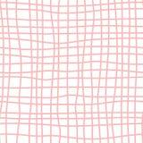 Teste padrão sem emenda do vetor cor-de-rosa da estrutura com superfície geométrica da peneira Bom para a textura do papel de env foto de stock